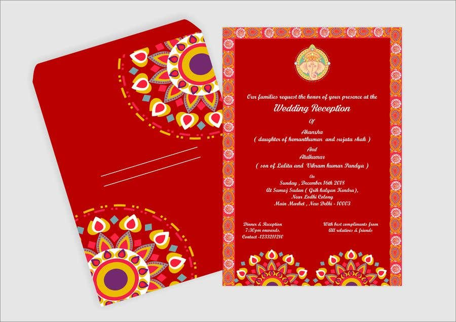 Entry 19 By Narvekarnetra02 For Hindu Wedding Invitation