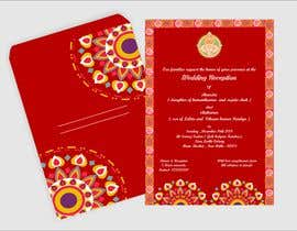 #19 per Hindu Wedding Invitation Card Design da narvekarnetra02
