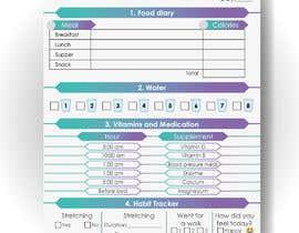 #5 para I need a food/exercise log designed por gabrielcarrasco1