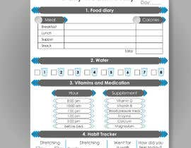 #7 para I need a food/exercise log designed por gabrielcarrasco1