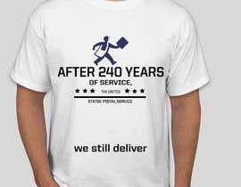 #1 for USPS T-shirt design af eyzahaini