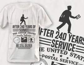 #16 for USPS T-shirt design af robiulhossi