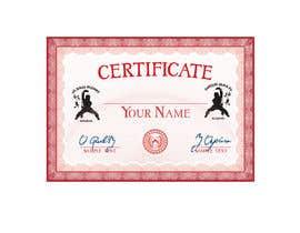 #8 untuk Shaolin Kung Fu Certificate oleh juelmondol