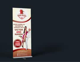 #19 for Stand-up Banner (Dance School) by alomgirdesigner