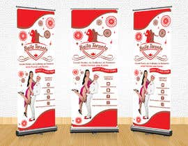 #28 for Stand-up Banner (Dance School) by adelheid574803