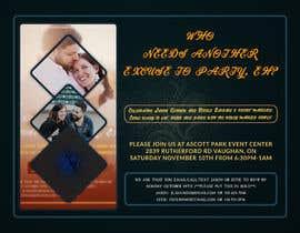 Nro 34 kilpailuun post wedding reception e-vite käyttäjältä blphotoeditor