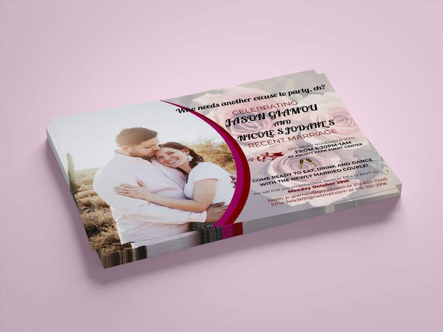 Proposition n°7 du concours post wedding reception e-vite