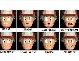 #8 para Facial expressions for a cute character de Adriangtx