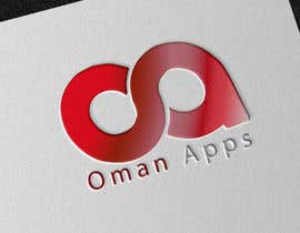 "#13 para Design logo for ""OmanApps"". Three colors: Red, white and green. Be creative in selecting icons :) por rokynil63"