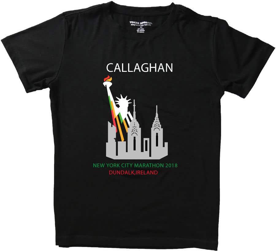 Proposition n°35 du concours New York City Marathon T-shirt logo design