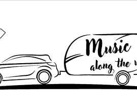 "nº 61 pour Design a logo for my website and blog ""Music Along the Way"" par gabba13"