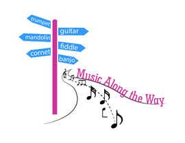 "nº 99 pour Design a logo for my website and blog ""Music Along the Way"" par lavinajain"