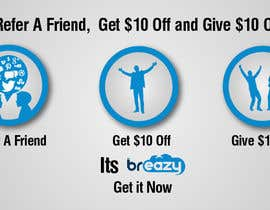"Arselartwork님에 의한 ""Refer A Friend and Get $10, Give 10% Off""을(를) 위한 #4"