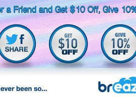 "divineequal님에 의한 ""Refer A Friend and Get $10, Give 10% Off""을(를) 위한 #11"