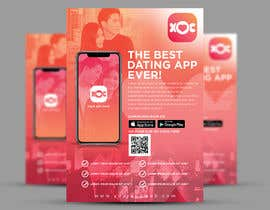 #23 for A4 Print poster for Dating App by ephdesign13