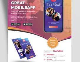 #34 for A4 Print poster for Dating App by ankurrpipaliya