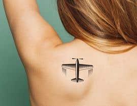 #26 for Airplane Tattoo Design af sarifmasum2014