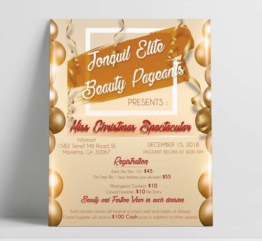 contest entry 11 for beauty pageant flyer needed