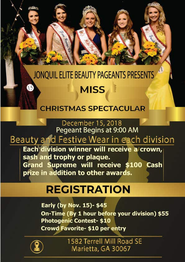contest entry 4 for beauty pageant flyer needed