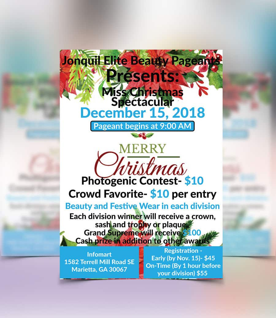 contest entry 18 for beauty pageant flyer needed