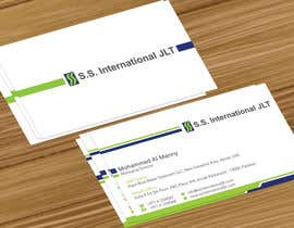 nº 37 pour Business Card Design for S.S. International par jobee