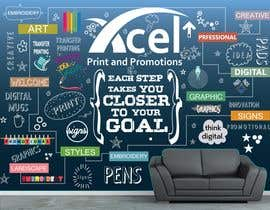 #49 para Design a wall graphic por sshhll