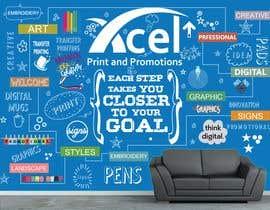 #50 para Design a wall graphic por sshhll