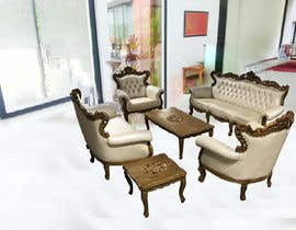 #13 untuk Furniture products to be inserted into a room setting oleh Veera777