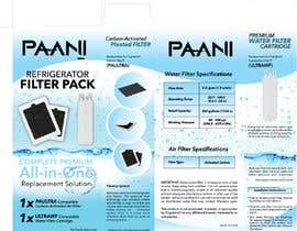 #8 for Box and Label Design - Water and Air Filter Pack af mikelpro
