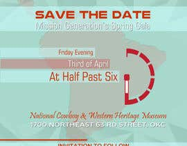 zskconcepts tarafından Design a Save the Date (Invitation) to a benefit Gala. için no 40