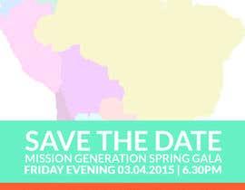 Redbrock tarafından Design a Save the Date (Invitation) to a benefit Gala. için no 25
