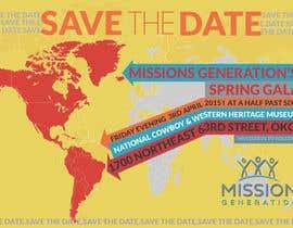 moiraleigh19 tarafından Design a Save the Date (Invitation) to a benefit Gala. için no 33