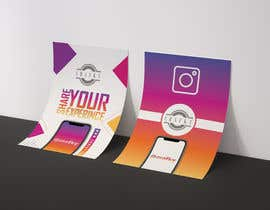 "#7 untuk Create 4"" x 6"" double sided flyers to promote my companies instagram oleh fantansticzz"