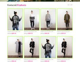 #34 para *** Mockup for Fashion Online Shop *** por negibheji