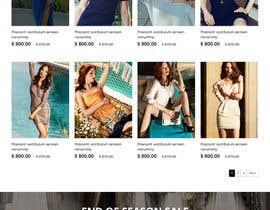 #32 para *** Mockup for Fashion Online Shop *** por hoang8xpts