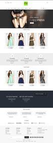 TECHRONYX tarafından *** Mockup for Fashion Online Shop *** için no 12