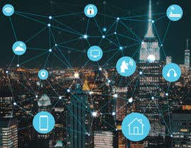 #7 cho Need IoT Internet of Things skyline created bởi htmlsafayet