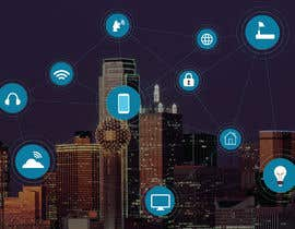 #41 cho Need IoT Internet of Things skyline created bởi htmlsafayet
