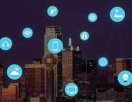 #42 cho Need IoT Internet of Things skyline created bởi htmlsafayet