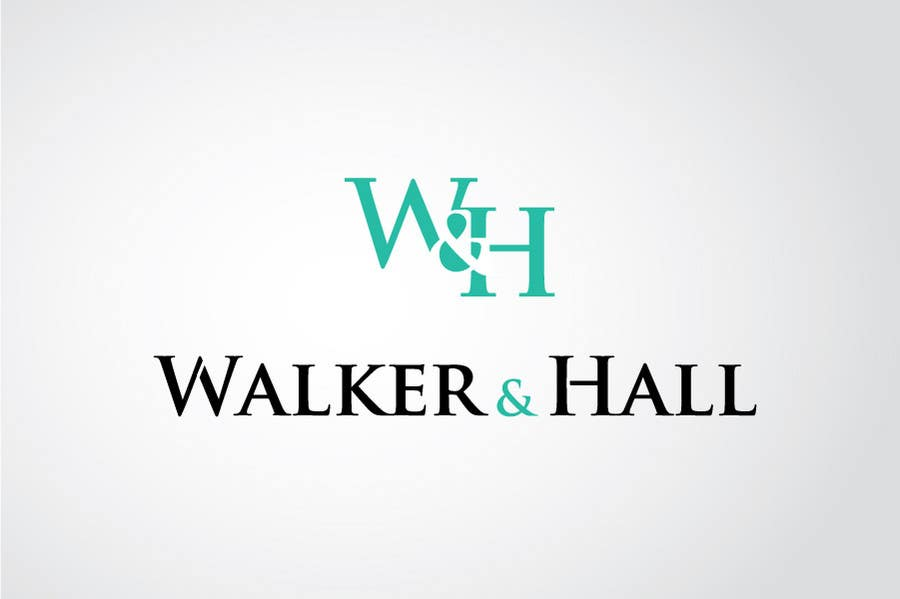 Contest Entry #490 for Logo Design for Walker and Hall
