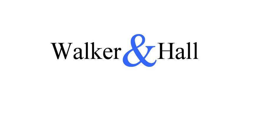 Penyertaan Peraduan #503 untuk Logo Design for Walker and Hall