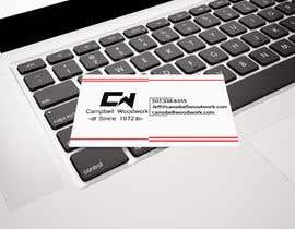 #83 for Cabinet Maker Logo and Business Cards af shzaddesigner