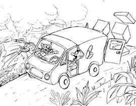 Nro 14 kilpailuun Children's story - simple caricatures käyttäjältä ecomoglio