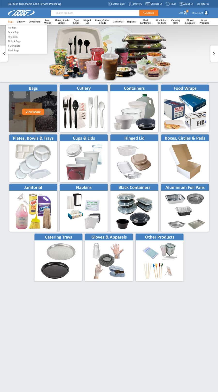 Konkurrenceindlæg #50 for Redesign Homepage of Storefront