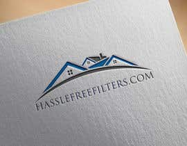 "#10 for I need a logo for hasslefreefilters.com. I want it highlighted with a modern outline of a house. A slogan that says ""never forget again"" underneath. Also writing that says ""online subscription"" by stevenkion"