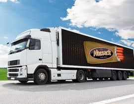 Nro 22 kilpailuun Make truck wrap artwork käyttäjältä osamaismail999