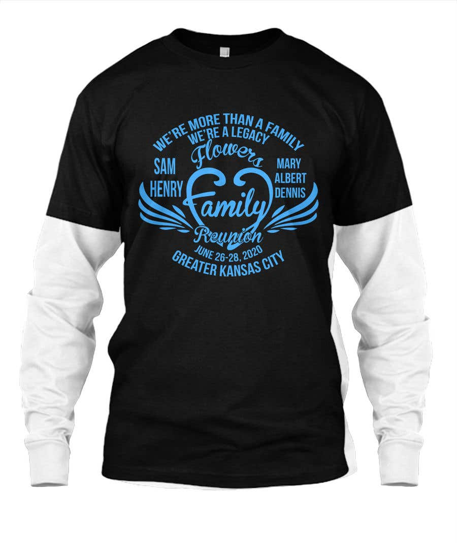 Konkurrenceindlæg #5 for Graphic Design for Family Reunion T-Shirt and Marketing Materials