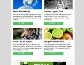 #6 for Email Marketing Template - e-Commerce af Adams221