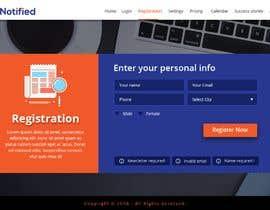 Nro 18 kilpailuun Create a product website mockup käyttäjältä webmastersud