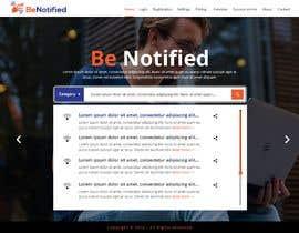 Nro 25 kilpailuun Create a product website mockup käyttäjältä webmastersud